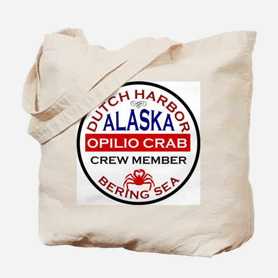 Dutch Harbor Bering Sea Crab Fishing Tote Bag