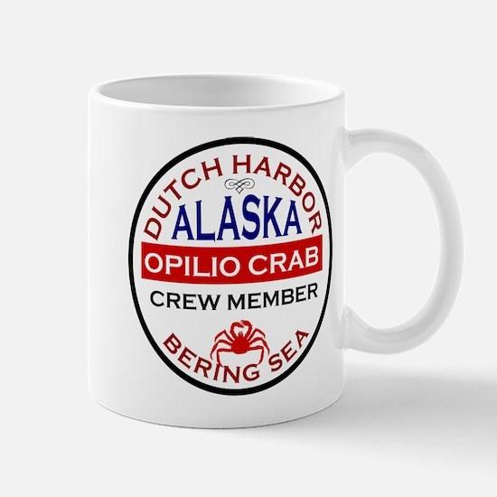 Dutch Harbor Bering Sea Crab Fishing Mug