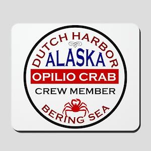 Dutch Harbor Bering Sea Crab Fishing Mousepad