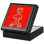 Inline Skater Skating Keepsake Box