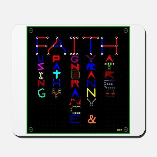 Engineering FAITH Mousepad