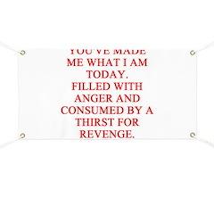 anger and revenge Banner