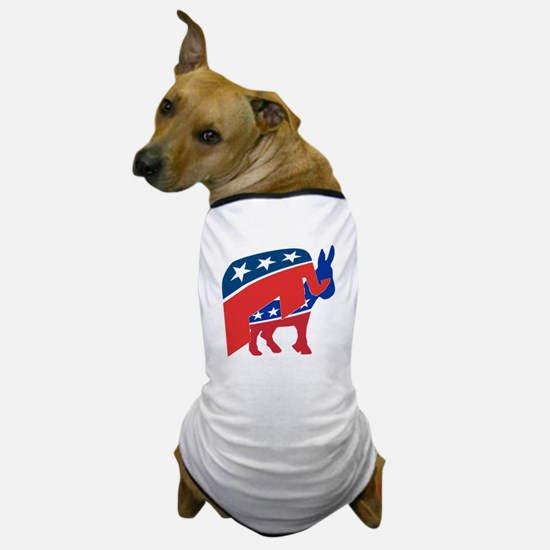 Cute Vote democratic party Dog T-Shirt