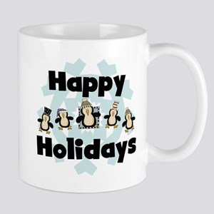 Penguin Happy Holidays Mug