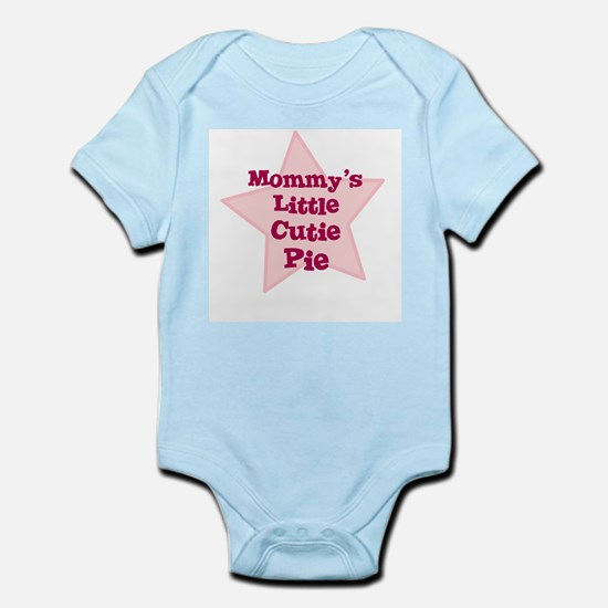 Mommy's Little Cutie Pie Infant Creeper