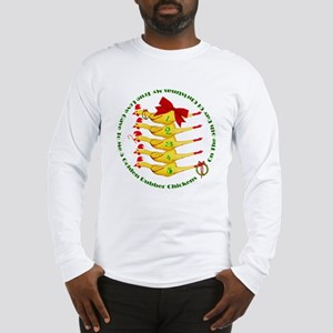 5 Rubber Chickens Long Sleeve T-Shirt