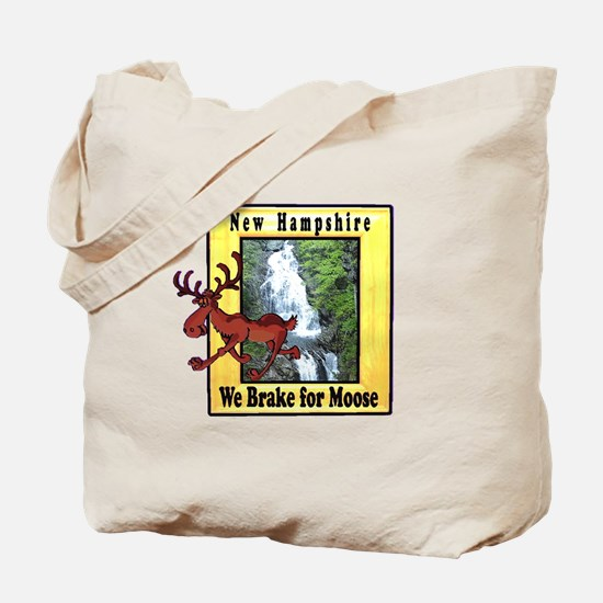 New Hampshire , We Brake for Tote Bag