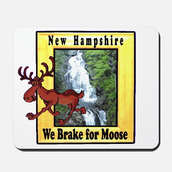 New Hampshire , We Brake for Mousepad