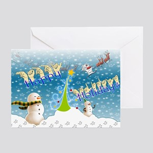 Holiday, happy Greeting Cards (Pk of 10)