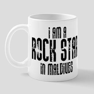 Rock Star In Maldives Mug