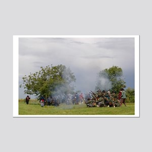 Musket fire Mini Poster Print