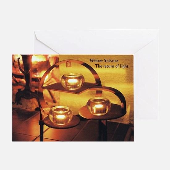 Winter Solstice - Greeting Card