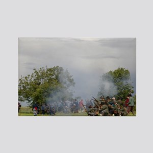 Musket fire Rectangle Magnet