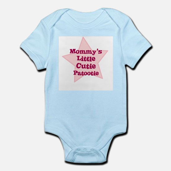 Mommy's Little Cutie Patootie Infant Creeper