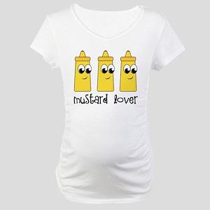 Mustard Lover Maternity T-Shirt