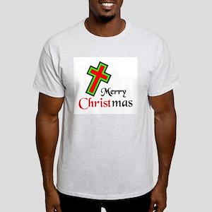 KEEP CHRIST IN CHRISTMAS Light T-Shirt