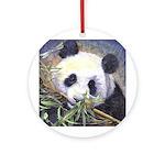 Panda Ornament (Round)