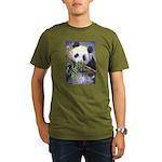 Panda Organic Men's T-Shirt (dark)