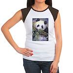 Panda Women's Cap Sleeve T-Shirt