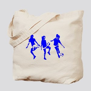 Blue Express Yourself Female Tote Bag
