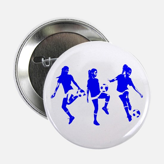 """Blue Express Yourself Female 2.25"""" Button"""