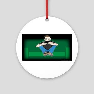 Video Kid Ornament (Round)
