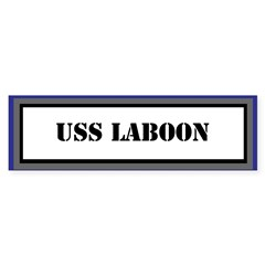 USS Laboon Sticker (Bumper)