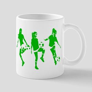 Green express Yourself Female Mug