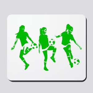 Green express Yourself Female Mousepad