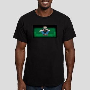 Video Kid Men's Fitted T-Shirt (dark)