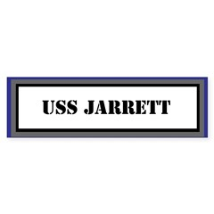 USS Jarrett Sticker (Bumper)