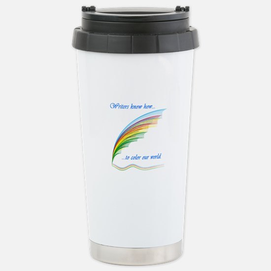 Writers know how... Stainless Steel Travel Mug
