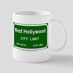 West Hollywood Mug