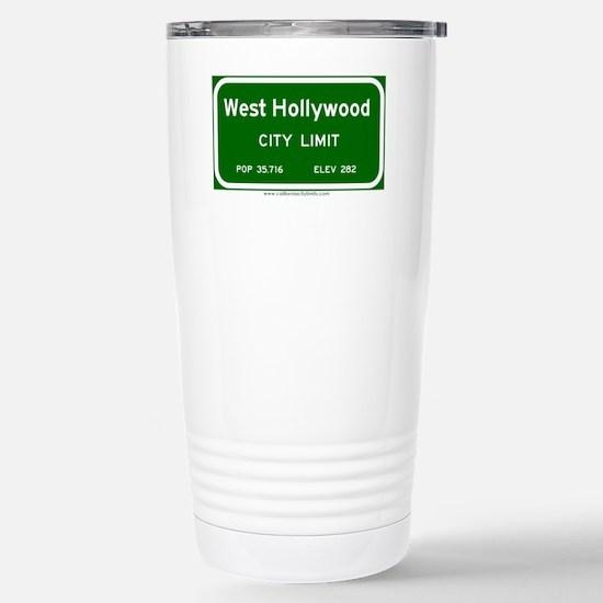 West Hollywood Stainless Steel Travel Mug