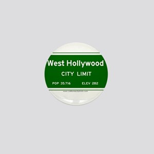 West Hollywood Mini Button