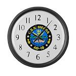 USS Sierra (AD 18) Large Wall Clock