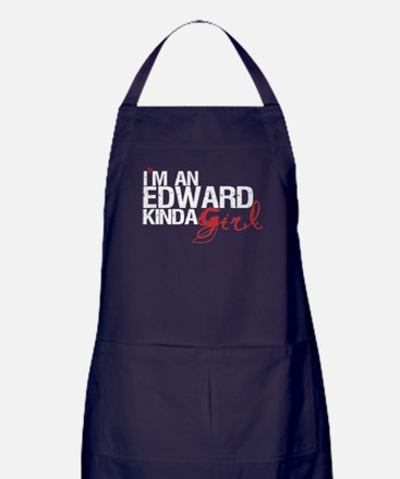 Edward Kinda Girl Apron (dark)