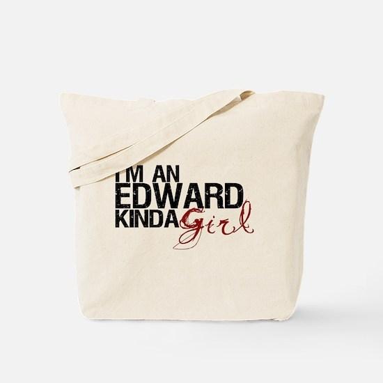 Edward Kinda Girl Tote Bag