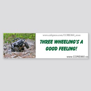 3 Wheeling 1 - Bumper Sticker