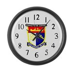 USS Hamul (AD 20) Large Wall Clock
