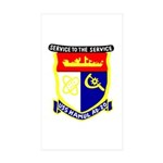 USS Hamul (AD 20) Rectangle Sticker 10 pk)
