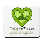 TheLoggersWife.com Mousepad