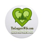 TheLoggersWife.com Ornament (Round)