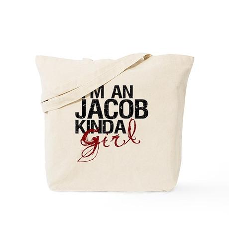 Jacob Kinda Girl Tote Bag