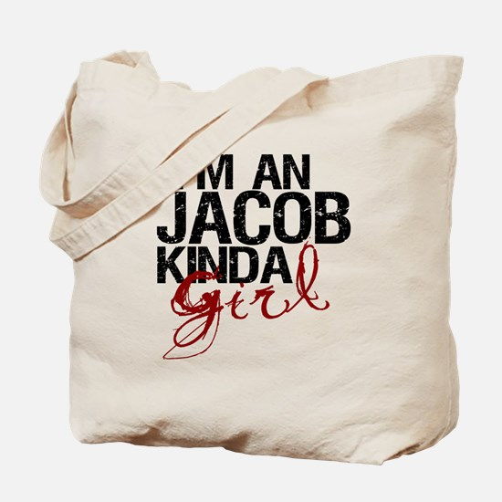 Jacob Kinda Girl Tote Bag