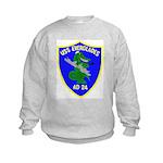 USS Everglades (AD 24) Kids Sweatshirt