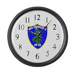 USS Everglades (AD 24) Large Wall Clock