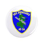 "USS Everglades (AD 24) 3.5"" Button (100 pack)"
