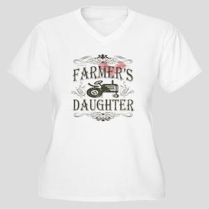 Farmer's Daughter Women's Plus Size V-Neck T-Shirt