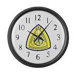 USS Shenandoah (AD 26) Large Wall Clock